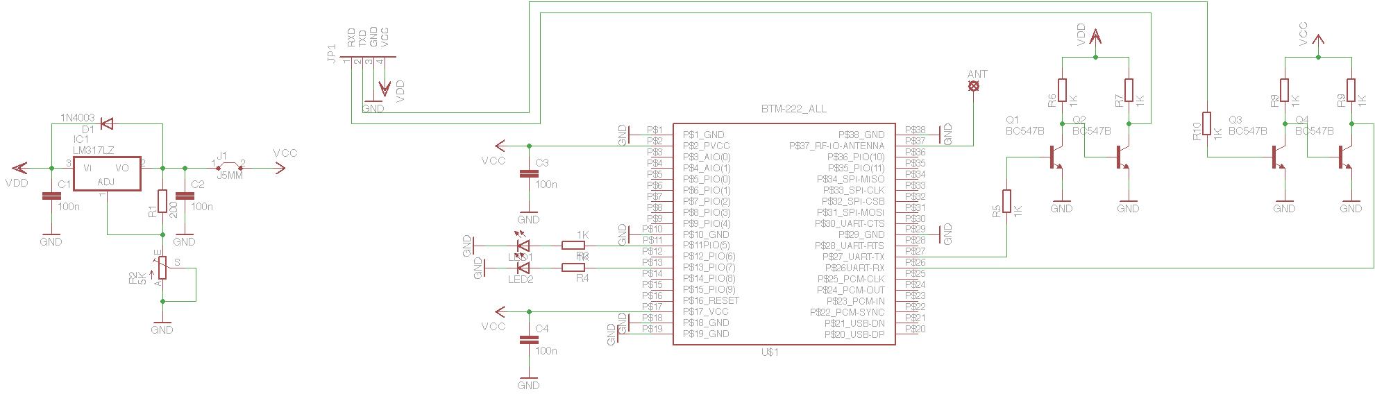 Bluetooth UART (BTM-222) - xythobuz.de