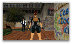 Screenshot SDL2 OpenRaider